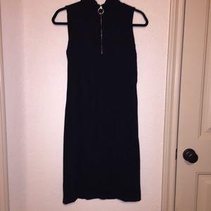Ralph Lauren O-ring 'tennis' Black Dress